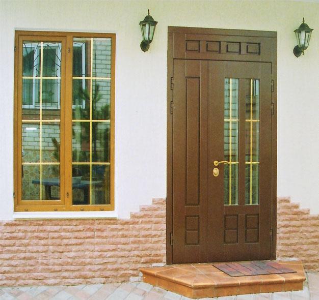 входные двери порошковая эмаль